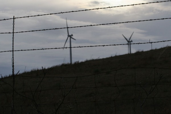 Wire and Wind Farm