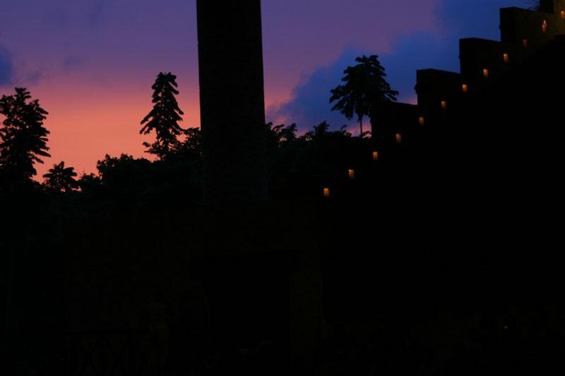 Xcaret Sunset (part I)