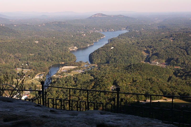 Lake Lure from Above