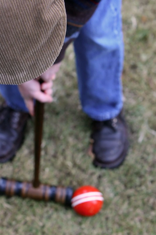 A Fine Day for Croquet
