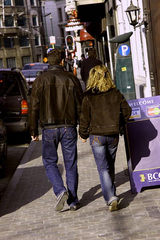 Evening Walk on Rue du Bailli