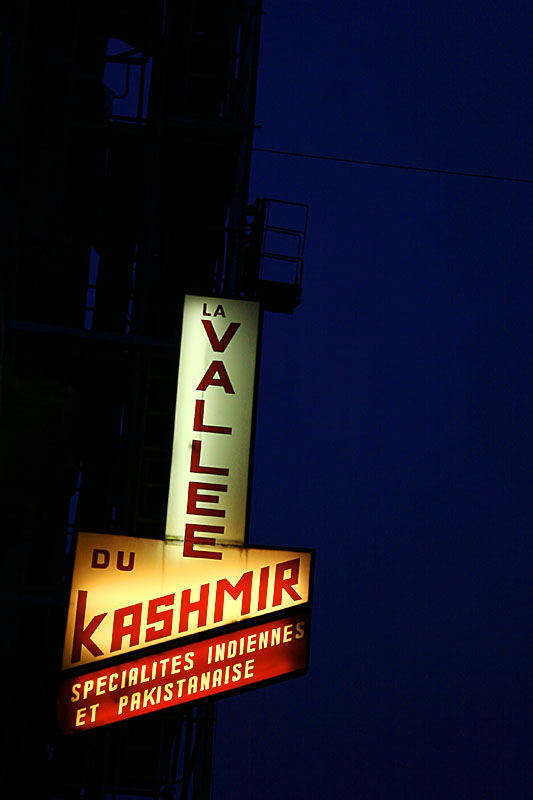 La Vallee du Kashmir