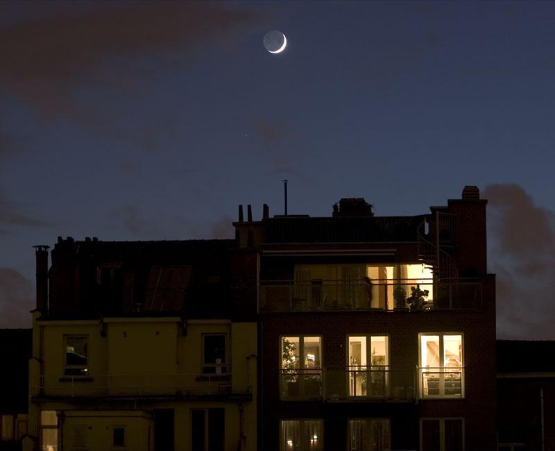 Moon Over Neighbors