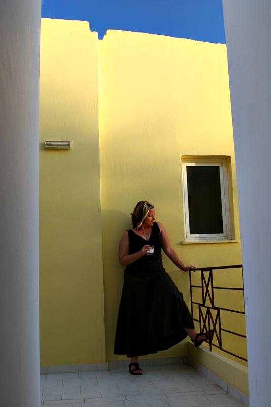 Ouzo Woman Agii Apostoli Crete