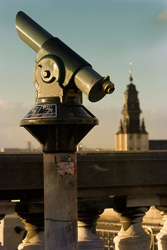 Brussels lookout telescope