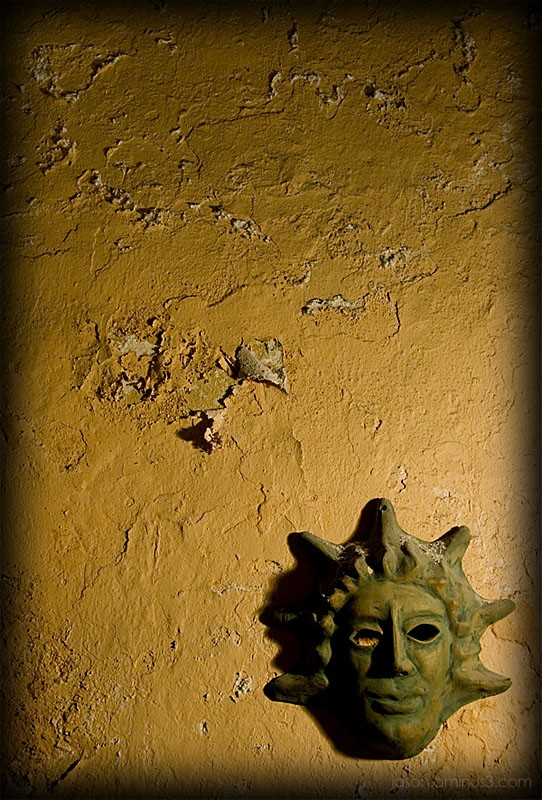 Ojen mask and wall texture