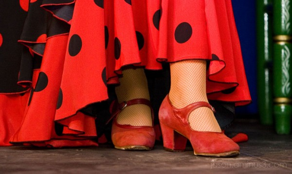 Flamenco Dancer Feet