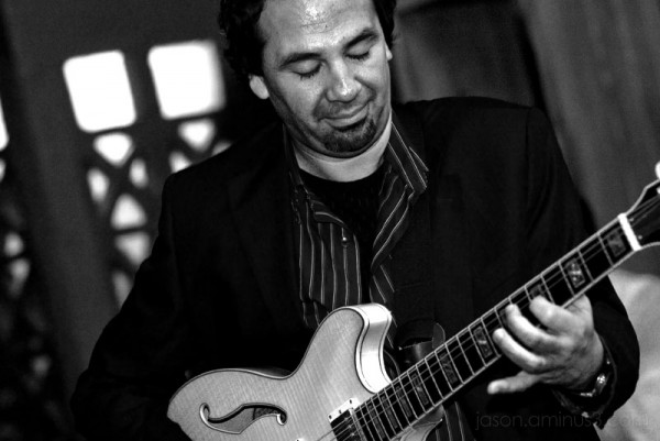 Jazz Guitar Player in Spain