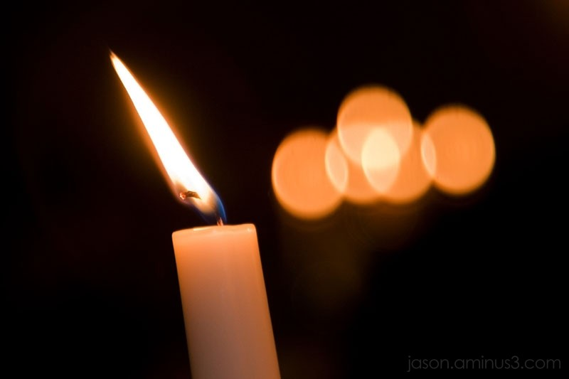 candle light bokeh