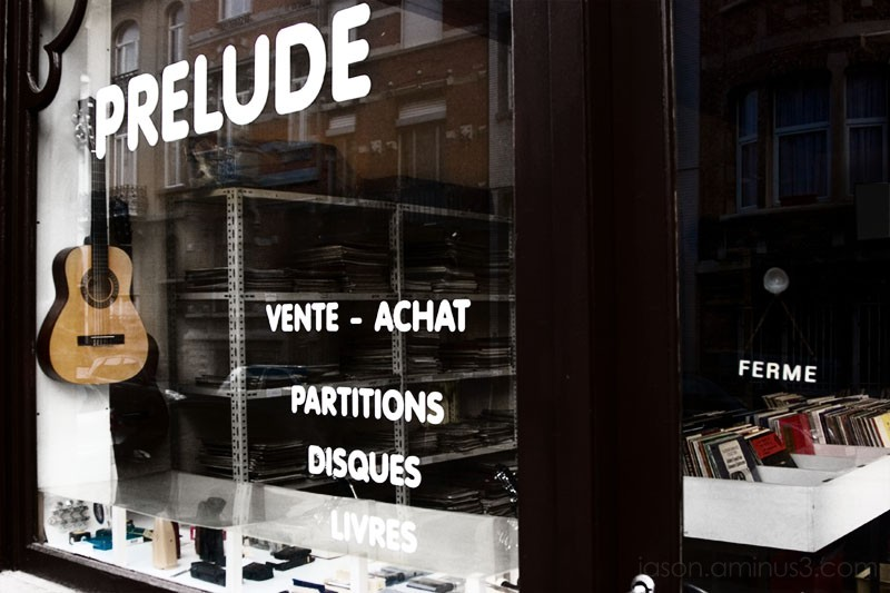 Prelude Record Shop Brussels