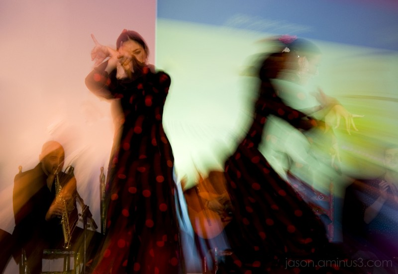 Flamenco Zoom Blur