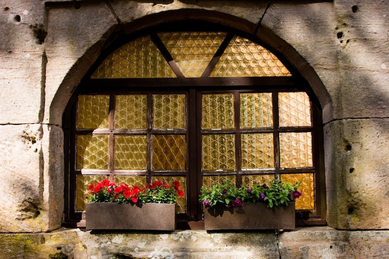 Nanstein Castle Window