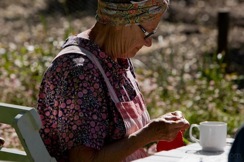 Swedish Weaving Woman