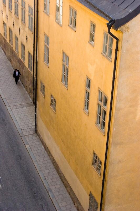 man in stockholm