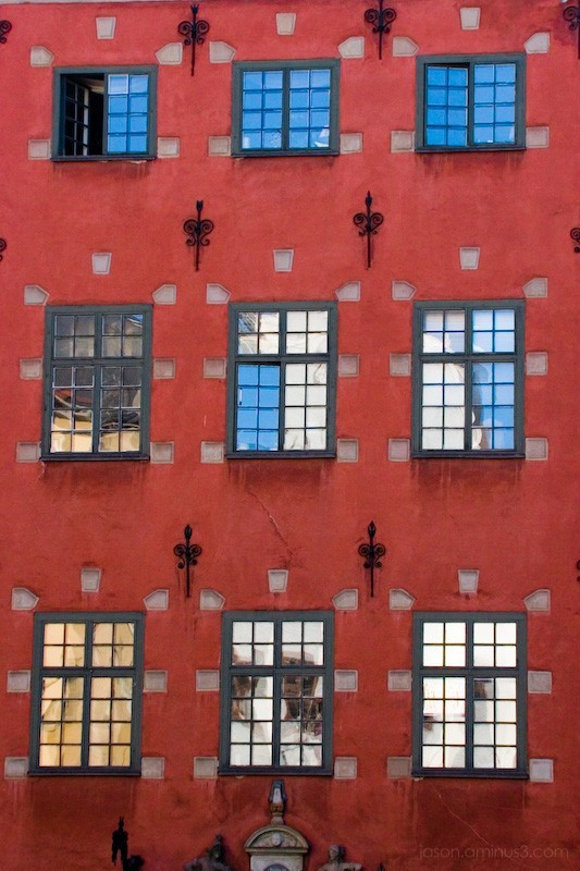 Red Swedish Building