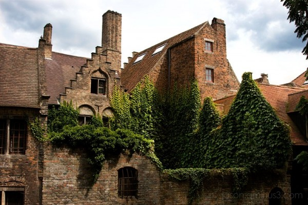Brugges ivy building