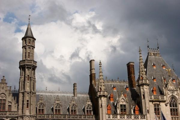 Brugge Medieval Square
