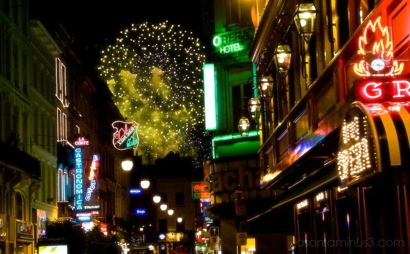 Belgium Fireworks Independence