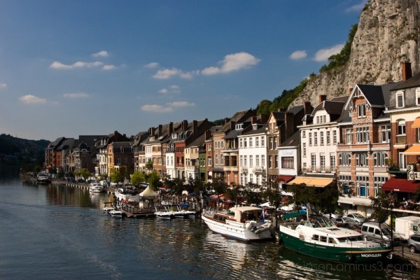 Dinant Boats and Houses