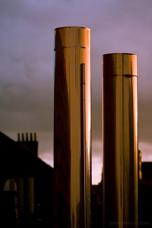 Belgian chimney