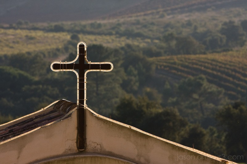 Portugal wine country cross
