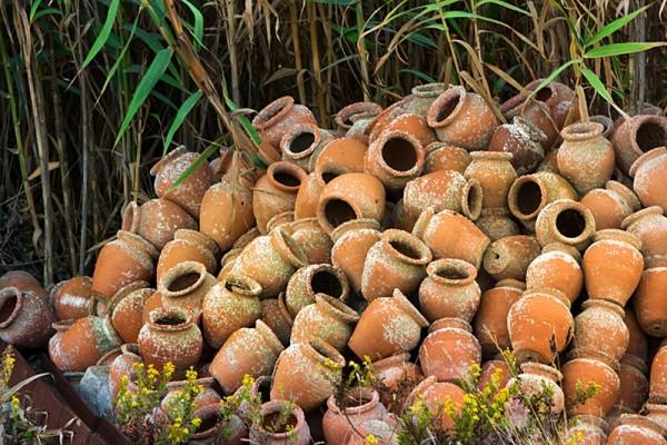 Portugal clay pots