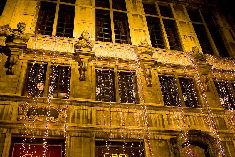 Christmas Brasserie Brussels Cafe