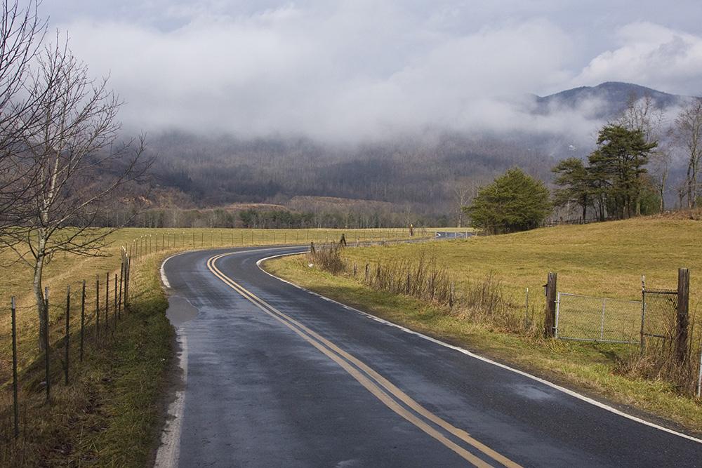 country road black mountain north carolina