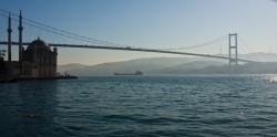 Turkey Bridge Freighter Simpsons Synchronicity