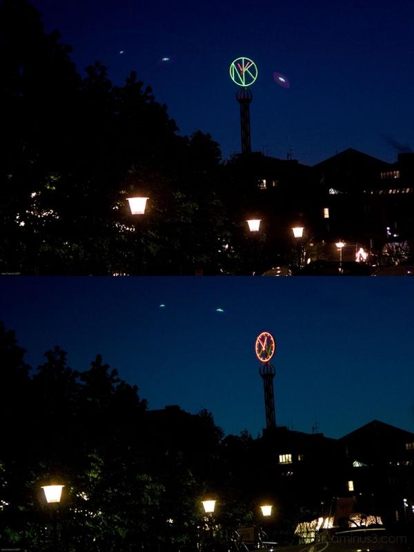 UFO over Stockholm