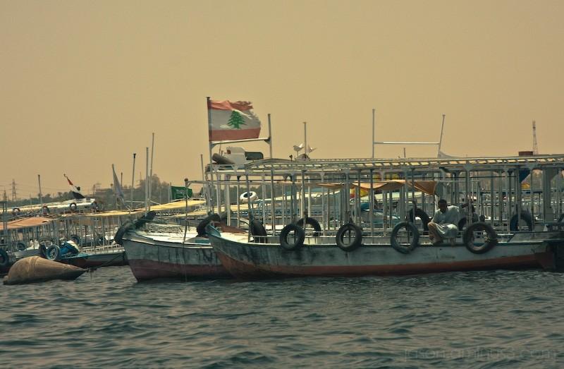 Aswan Dam boats