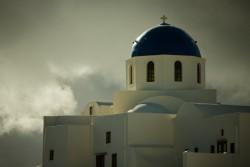 Blue Dome Greek Church