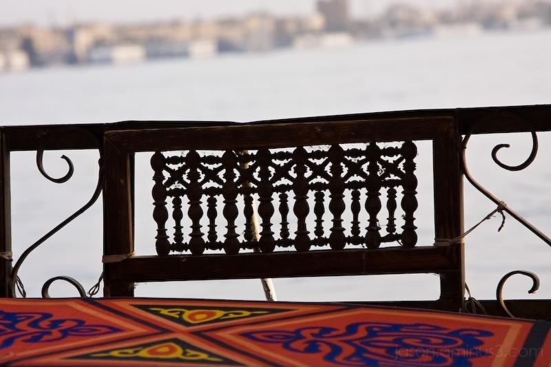 Aswan boat detail