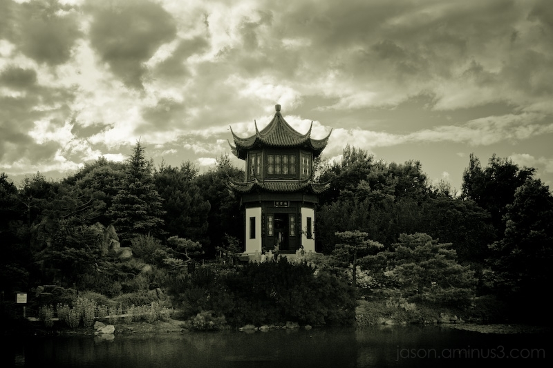 Montreal Botanical Garden Chinese Pavilion