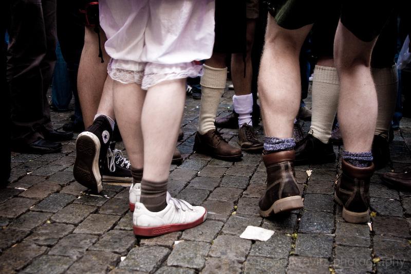 beer festival feet