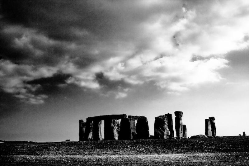 stonehenge contrast