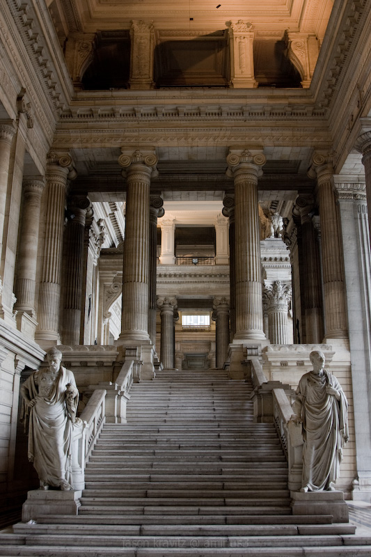 Palais de Justice Interior