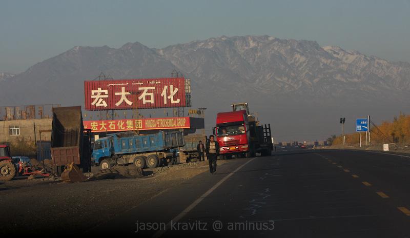 Gobi Desert Truck Stop