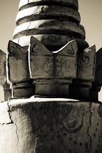 Buddhist pillar