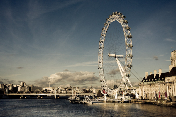Muted London Eye