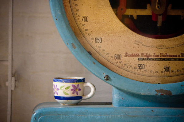 cup and scale