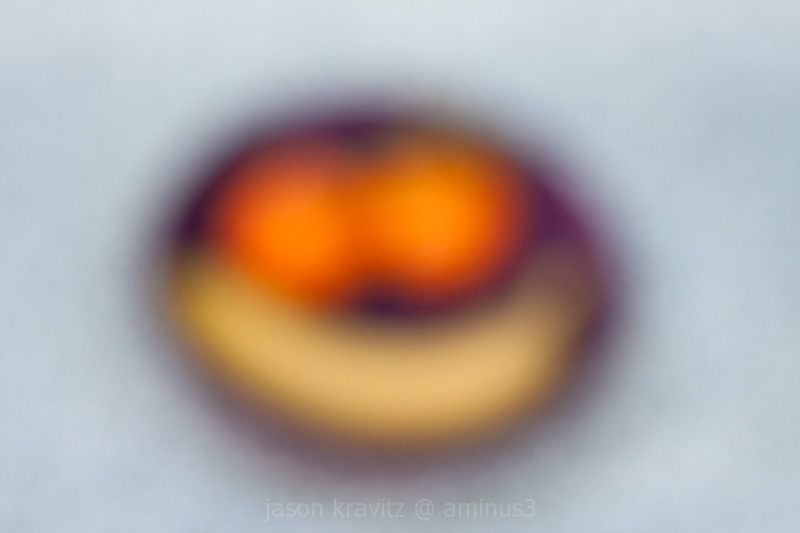 fruit out of focus