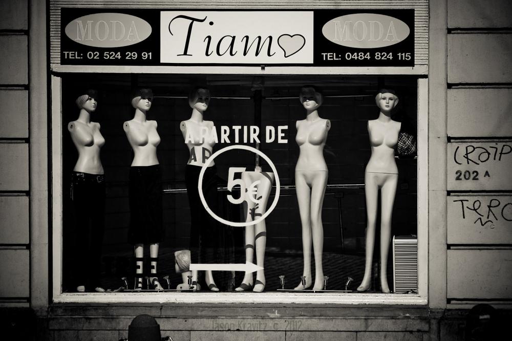 Brussels shop window