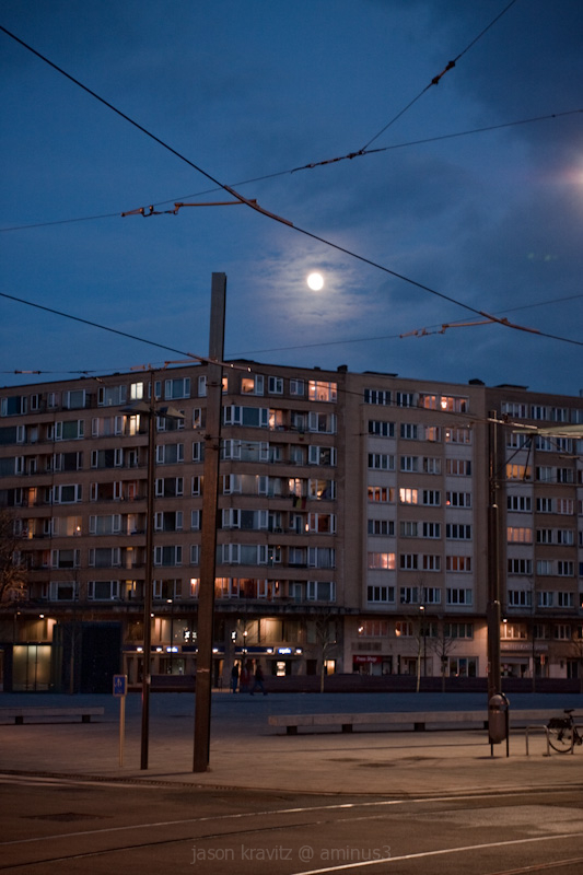 moon place flagey