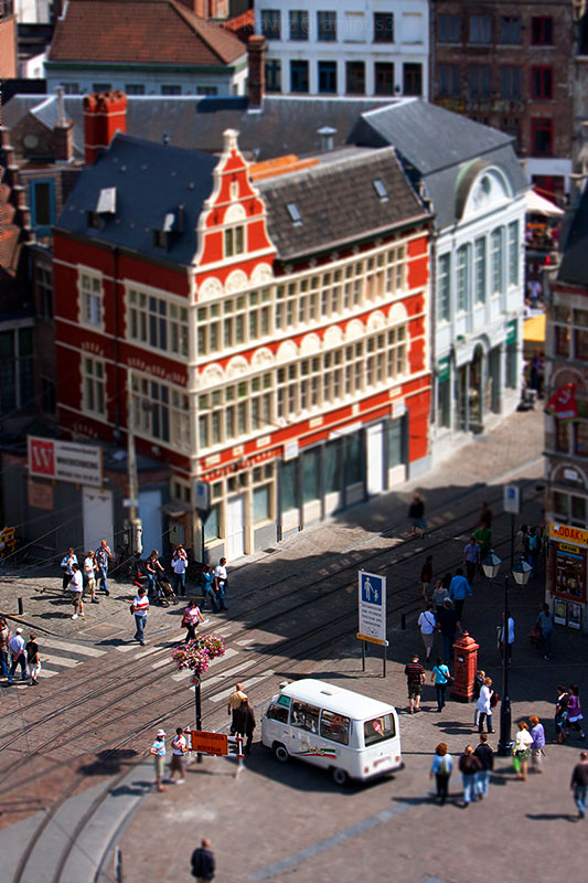 gent tilt shift miniature