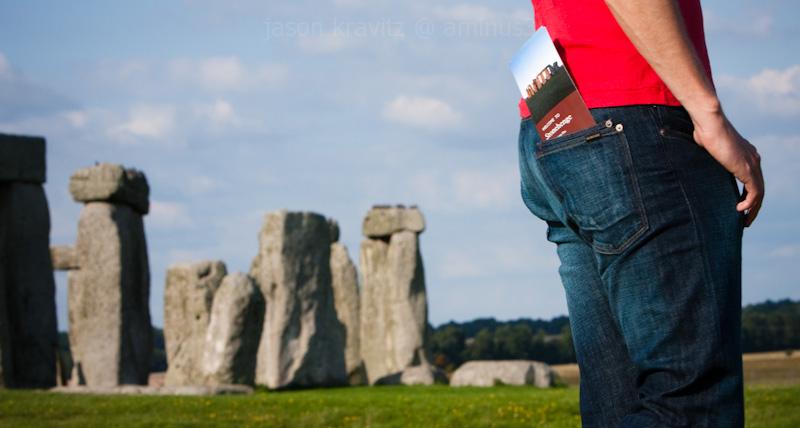 stonehenge peson