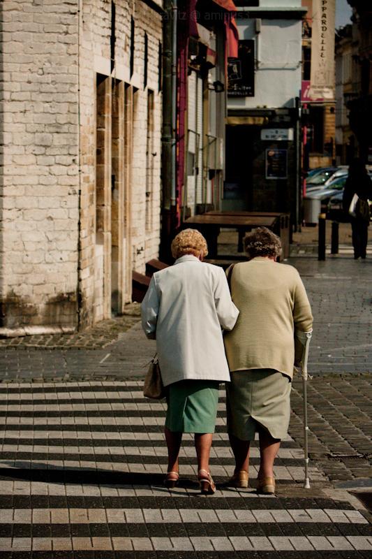Elderly Belgians