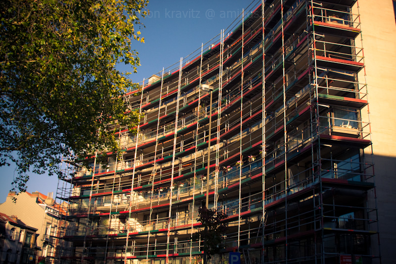 color scaffolding