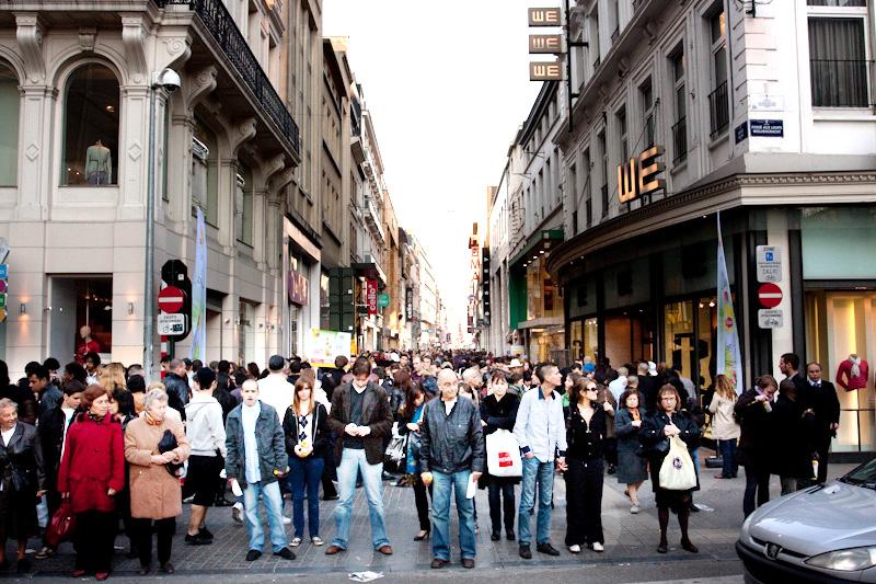 rue nueve brussels shopping