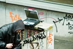 phone box hacker